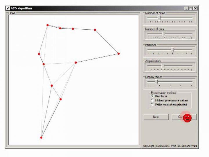 TI 2014-01-23 04 Ein 'Ameisenalgorithmus' für das Problem des Handlungsreisenden