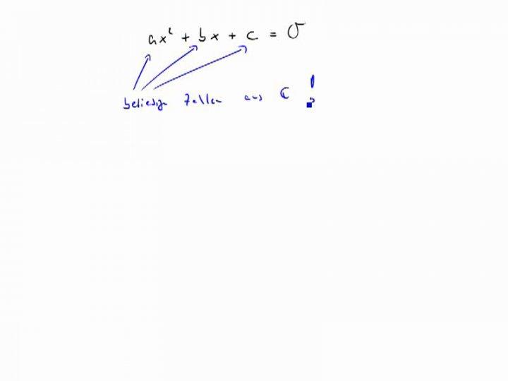 M3 2017-09-27 08 Quadratische Gleichungen mit komplexen Koeffizienten, Teil 1