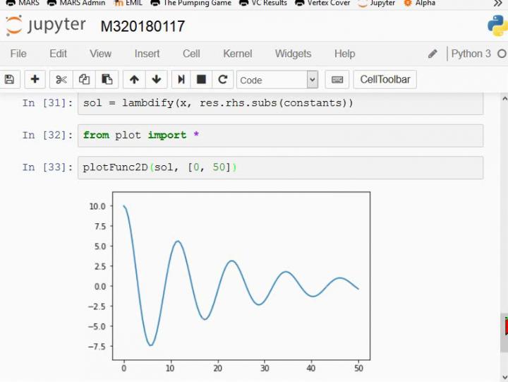 M3 2018-01-17 03 Symbolisches (analytisches) Lösen von Differentialgleichungen mit Computeralgebrasystemen