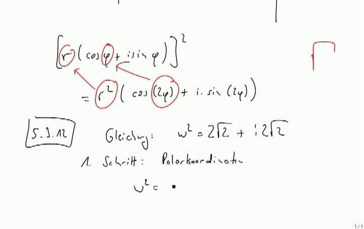 M2 2013-10-09 02 Berechnung der Quadratwurzel mit Polarkoordinaten