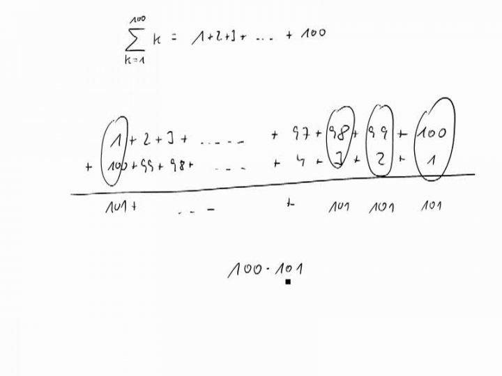 M1 2016-12-14 06 Die Gaußsche Summenformel