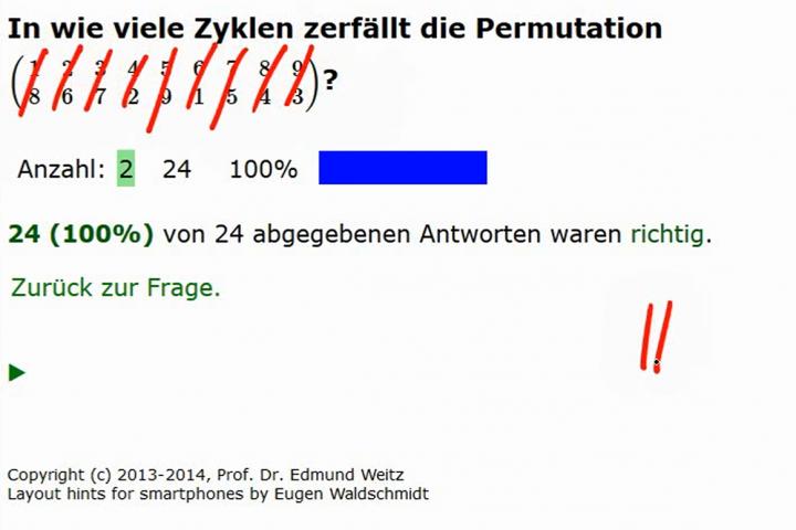 M2 2014-03-28 08 Permutationen als Produkte von Zyklen - Beispiele