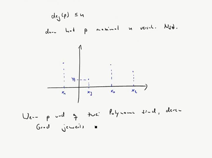 M3 2017-11-22 03 Nullstellen von Polynomen / Fundamentalsatz der Algebra