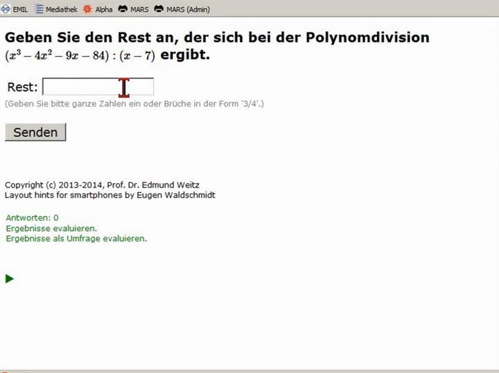 M2 2014-04-11 05 Polynomdivision - Beispiele