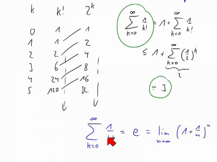 M2 2014-06-13 04 Exponentialreihe und Nullfolgenkriterium