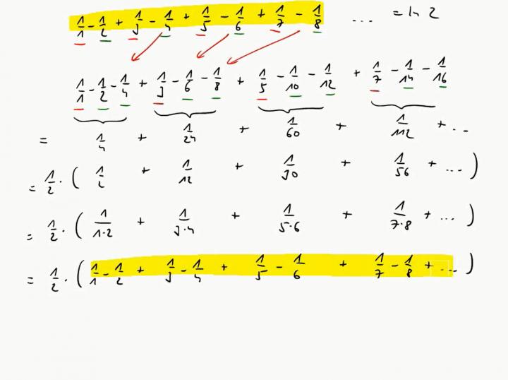 M3 2017-10-25 06 Absolute Konvergenz und der Riemannsche Umordnungssatz