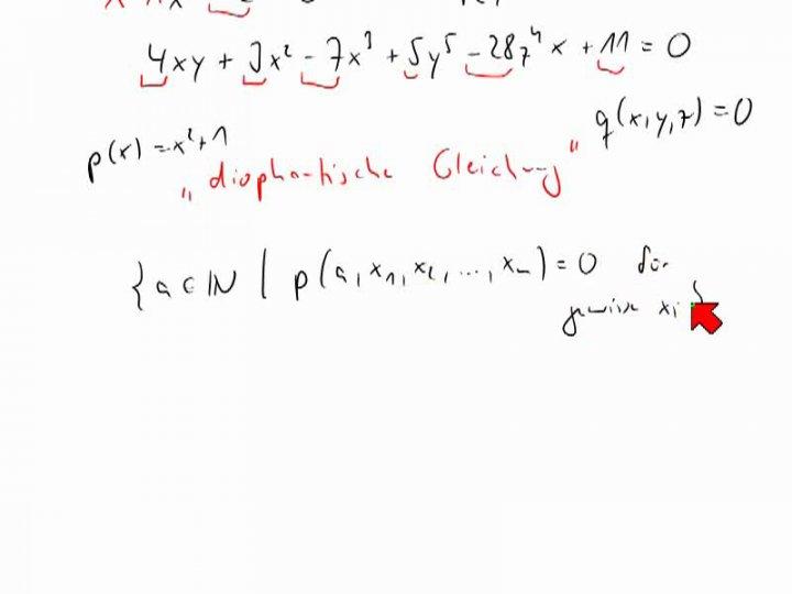 TI 2013-12-12 06 Hilberts zehntes Problem