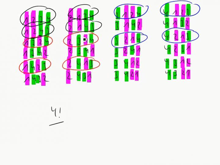 M1 2014-12-01 07 Permutationen mit Wiederholungen