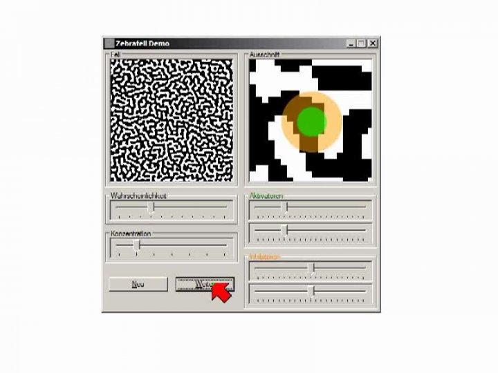 MINF 2014-04-01 05 Anwendung - Zelluläre Automaten zur Simulation von Morphogenese