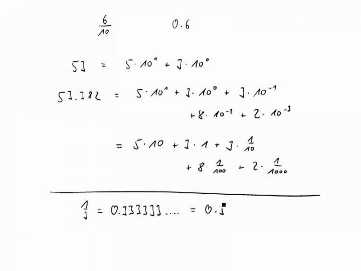 M1 2016-11-07 06 Die Dezimaldarstellung rationaler Zahlen