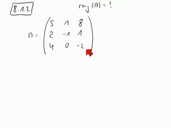 M2 2013-11-08 03 Gauß-Verfahren zur Berechnung des Rangs