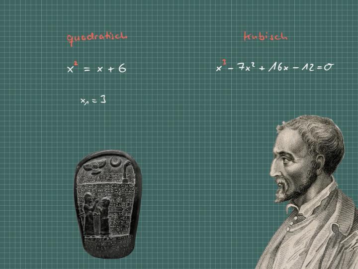 M3 2017-09-29 01 Kubische Gleichungen: Woher die komplexen Zahlen kommen