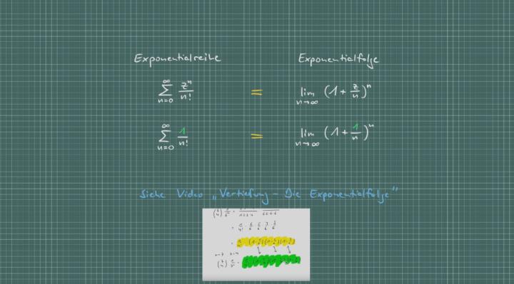 M3 2017-10-26 01 Vertiefung - Exponentialreihe und Exponentialfolge