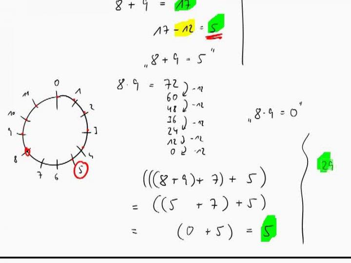 M1 2016-10-10 01 Kongruenz bzgl. eines Moduls