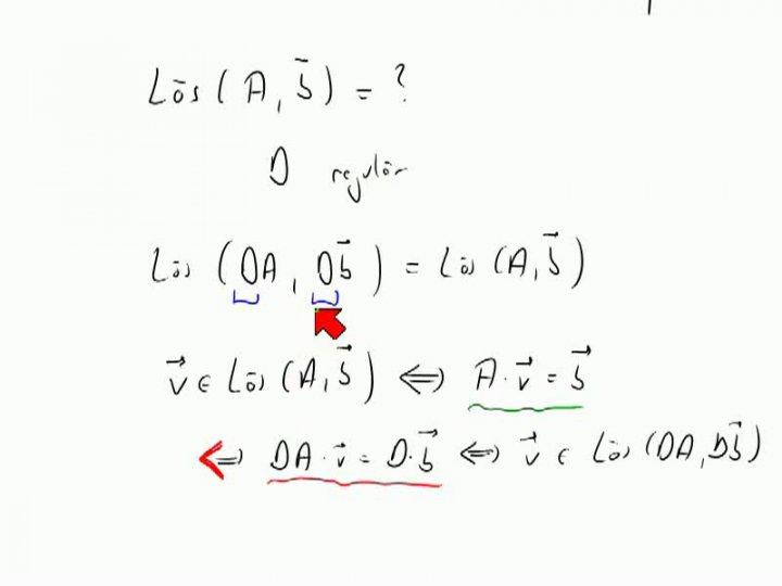 M2 2013-11-13 03 Gauß-Verfahren für lineare Gleichungssysteme, Begründung