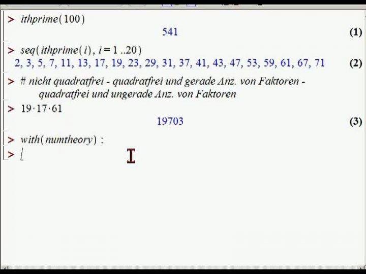 M1 2013-10-23 04 Beispiel - Mertenssche Vermutung